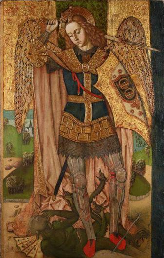 Maestro di Castelsardo. San Michele arcangelo