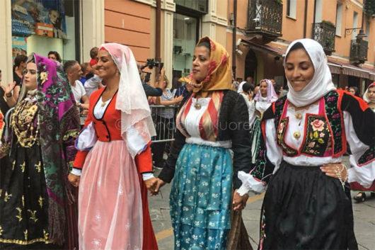 Nuoro. Redentore 2019, abiti tradizionali (foto Leonardo Moro)