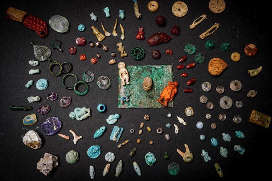 Pompei, il tesoro della fattucchiera