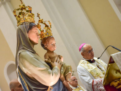 Santa messa in onore di Santa Maria della Neve (foto S.Littarru)