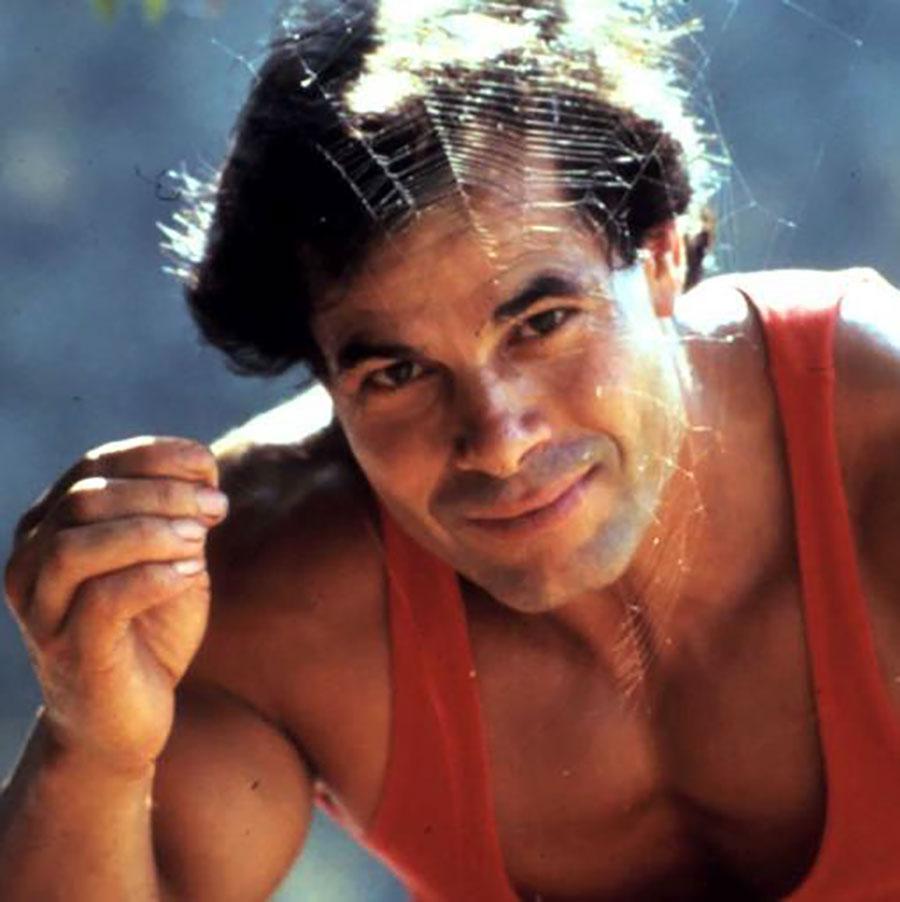 Un ritratto dell'ex campione di culturismo Franco Columbu