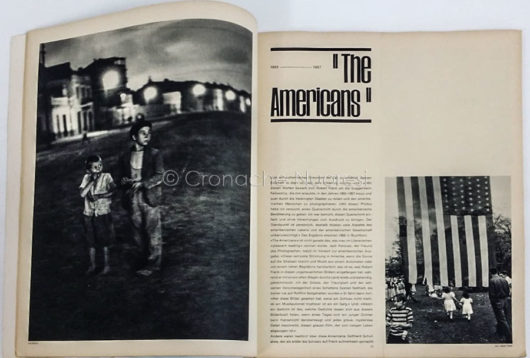 Doppia pagine tratta dalla rivista