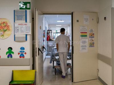Il reparto di Pediatria del San Francesco di Nuoro (foto S.Novellu)