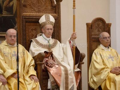 L'insediamento di Monsignor Antonello Mura (foto S.Novellu)