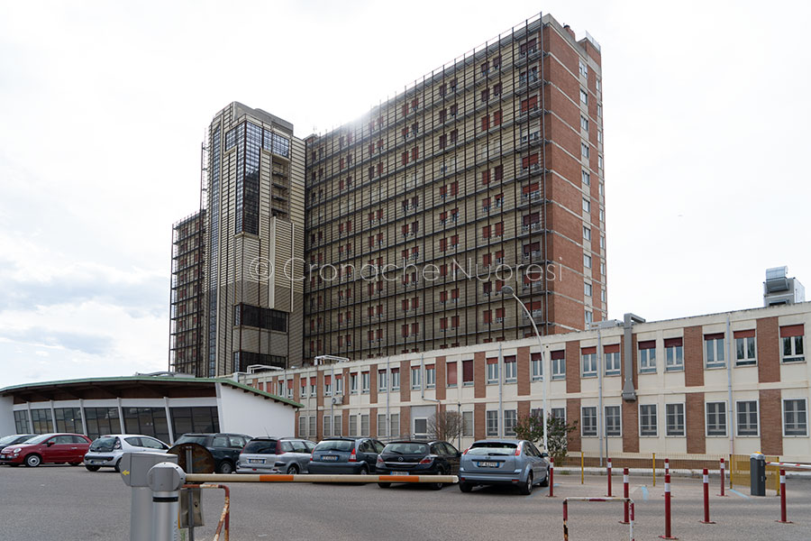 L'ospedale San Francesco di Nuoro (foto S.Novellu)