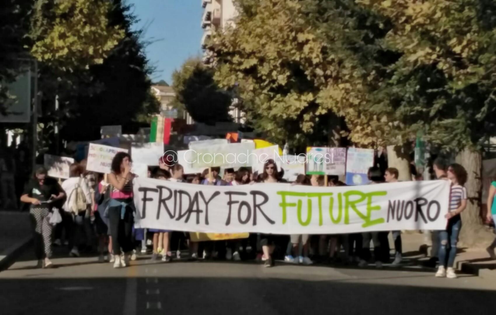 Nuoro. Manifestazione