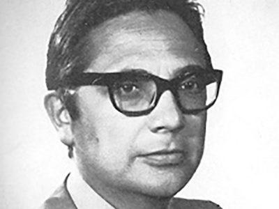 Un ritratto dello scrittore Salvatore Mannuzzu