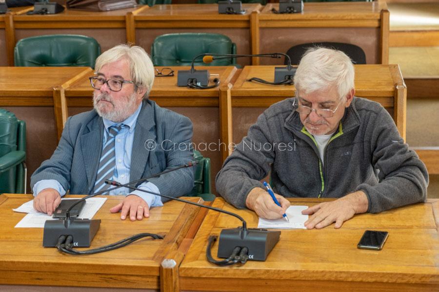 Basilio Brodu e Peppe Montesu (foto S.Novellu)