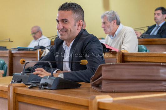 Il consigliere comunale Peppe Montesu (foto S.Novellu)