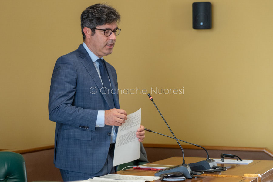 Il sindaco Andrea Soddu (foto S.Novellu)