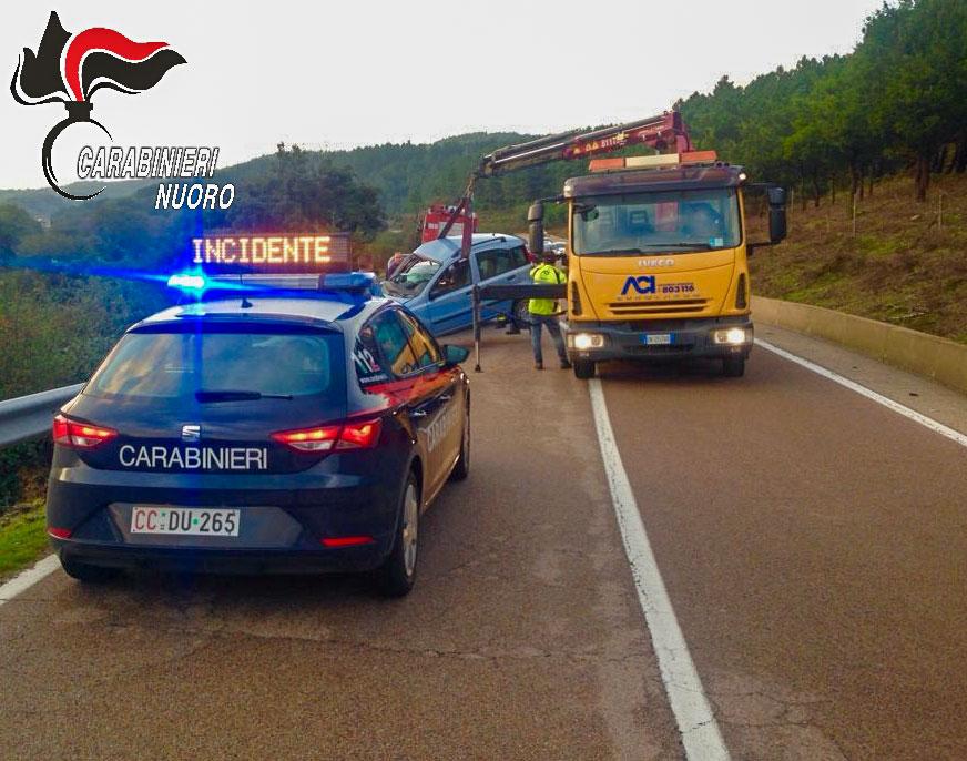 Segnalazione di un incidente stradale