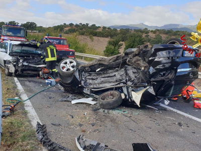 Incidente mortale sulla 129