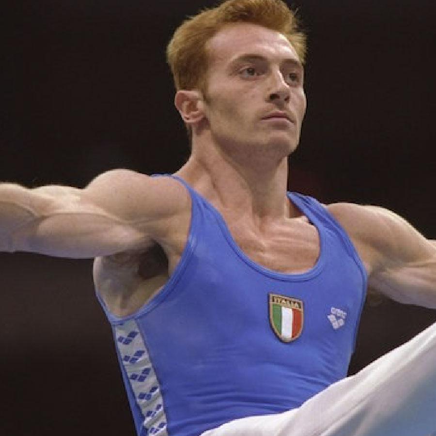 Il ginnasta Juri Checchi
