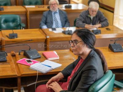 L'assessore Rachele Piras (foto S.Novellu)