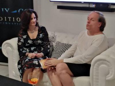 Stefania Tosi con Stefano Ferri (foto F.Becchere)