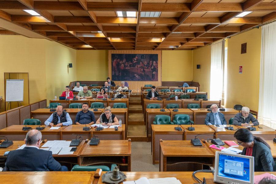 Un momento del Consiglio Comunale (foto S.Novellu)