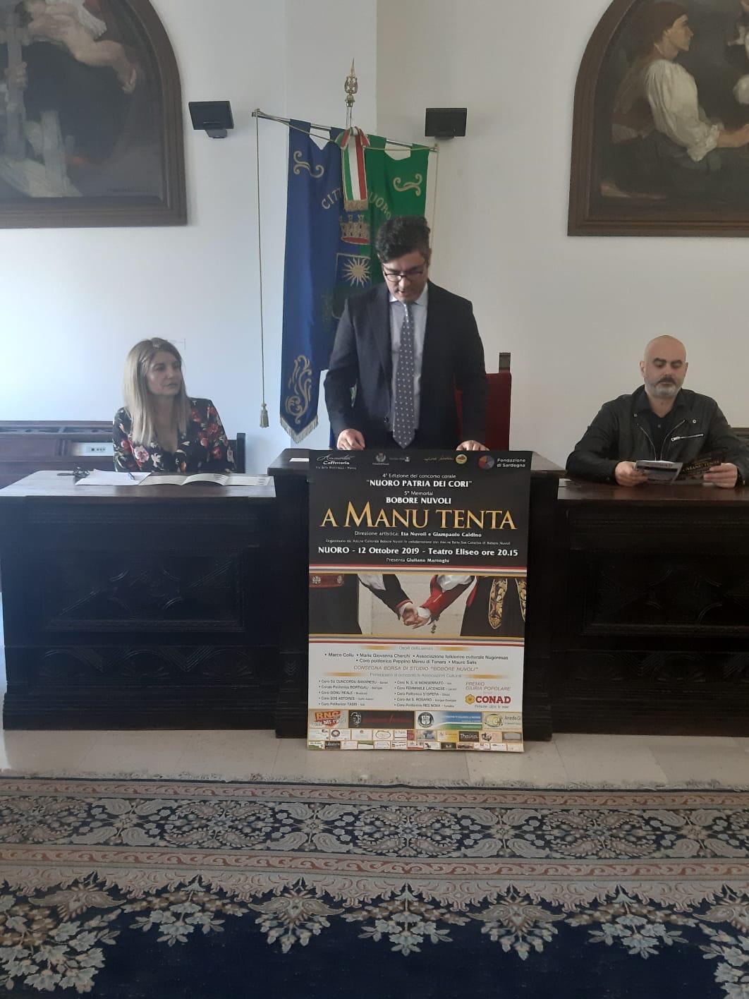 """L'edizione """"Nuoro Patria dei Cori """" 2020 si apre all'Italia: potranno partecipare anche cori nazionale"""