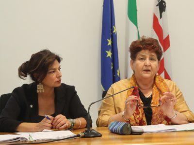 L'assessore Murgia con il Ministro Bellanova