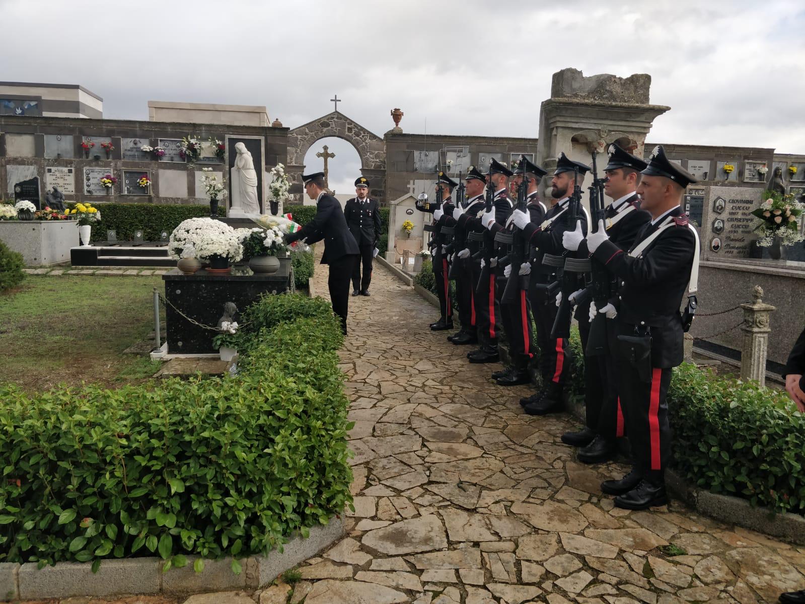 La Cerimonia di commemorazione a Borore