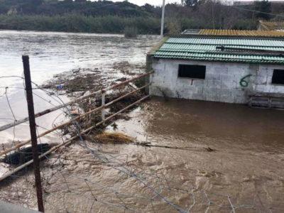 L'esondazione del Rio Mannu