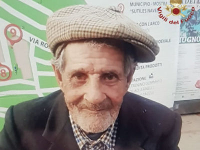 Gino Serra, il 93enne scomparso a Ulassai
