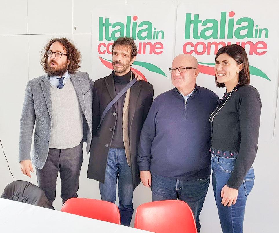 Gli esponenti di Italia in Comune
