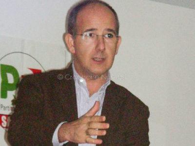 Il vice segretario regionale del PD franco Sabatini