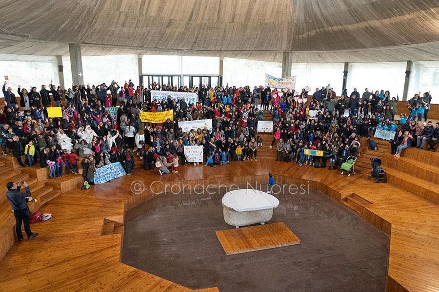 Giornata interdiocesana Scuole paritarie a Orgosolo (foto S.Novellu)