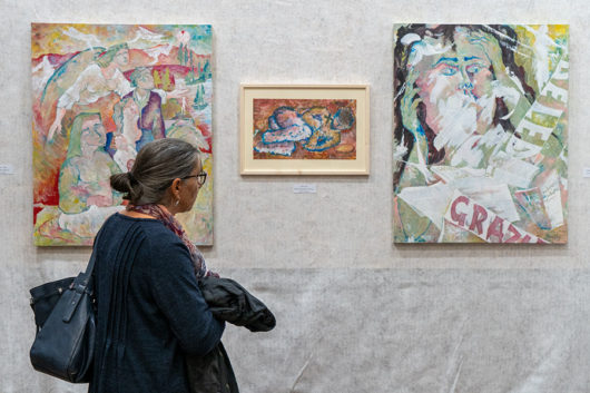 La mostra di Alfonso Silba a Nuoro (foto S.Novellu)