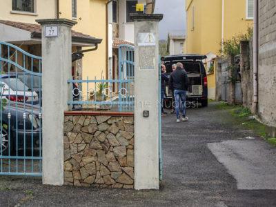 La villetta in cui è avvenuta la tragedia (© foto Cronache Nuoresi)