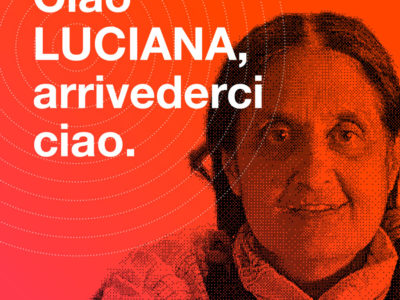 Il post dei negozianti del Corso Garibaldi dedicato a Luciana Arca