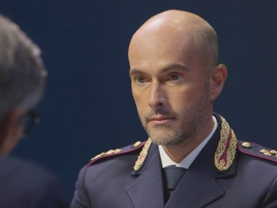 Il Commissario Fabrizio Mustaro