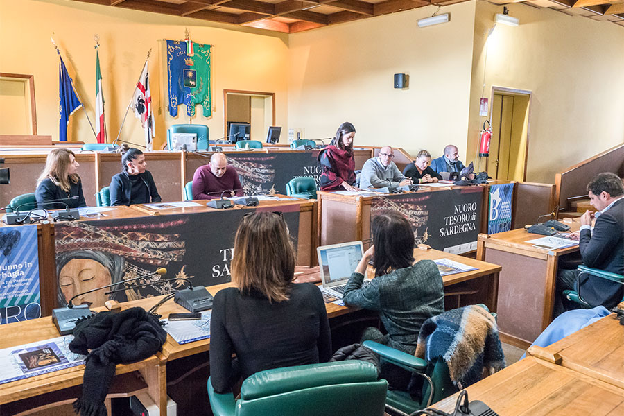 La conferenza stampa di Mastros e Massaios