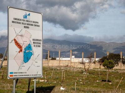 Uno scorcio del polo industriale di Ottana (foto S.Novellu)