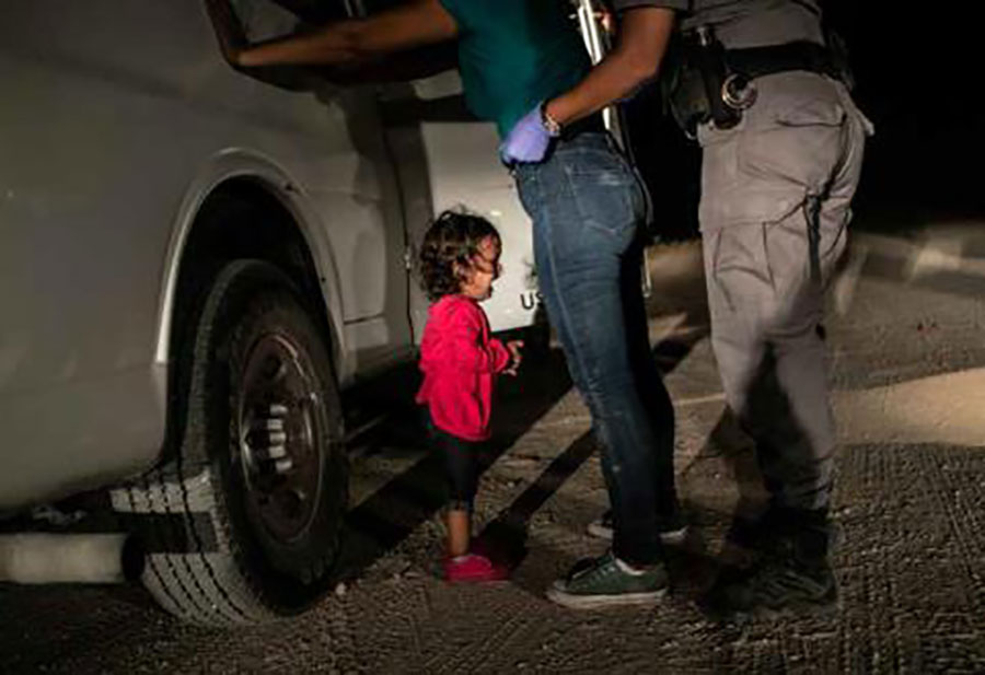 World Press Photo of the Year - John Moore:Getty Images