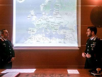 Conferenza stampa sulla mappa della droga nel Nuorese