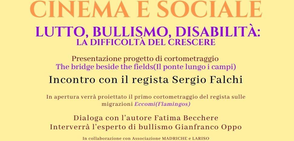"""Nuoro. """"The bridge beside the fields"""": il regista Sergio Falchi presenta il suo progetto"""