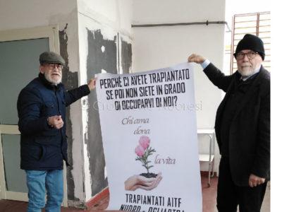 La protesta dei trapiantati (F. F. Becchere)