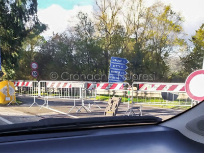 Accesso bloccato a Prato Sardo