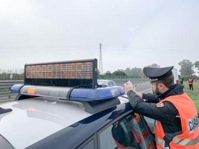 I controlli Carabinieri