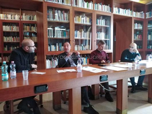 Conferenza stampa del Nobel incontra il nobel (f. F. Becchere)