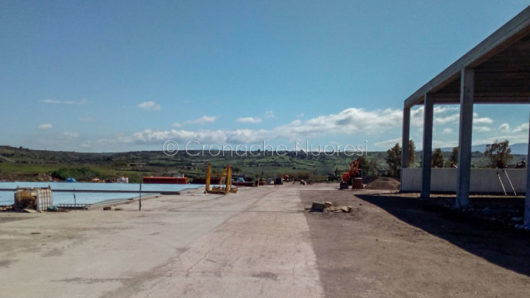 Lo stabilimento GeCo a Magomadas