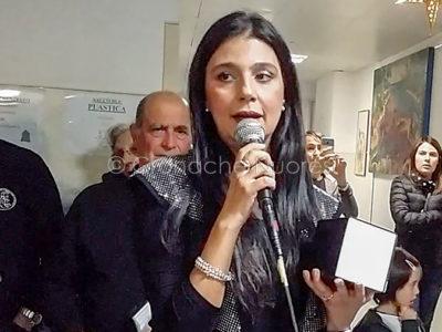 Maria Giovanna Cherchi canta per i bimbi del Brotzu (foto S.Novellu)