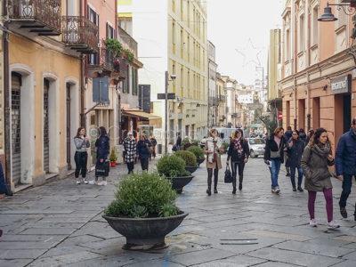 Nuoro. Il corso Garibaldi (foto S.Novellu)