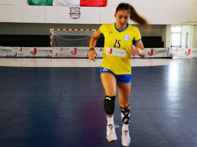 La giocatrice Silvia Basolu