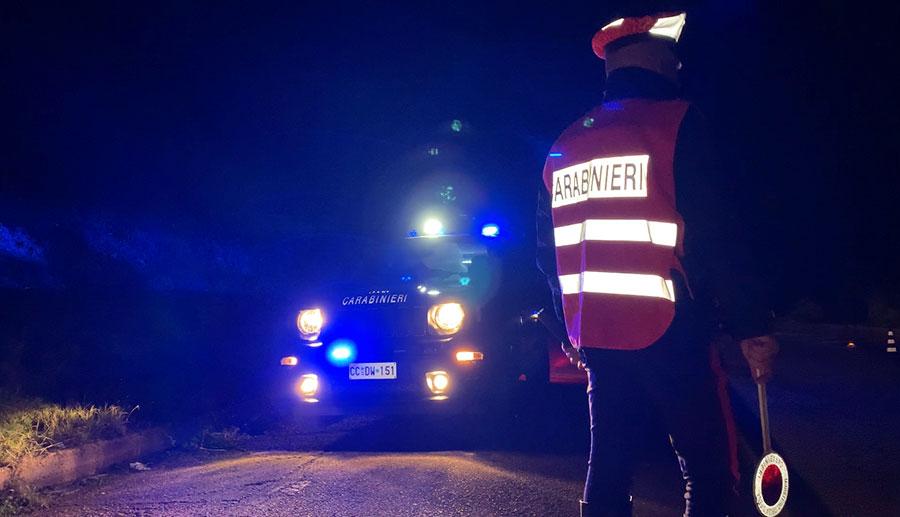 Guida in stato di ebbrezza e senza patente: 8 persone nei guai in Baronia