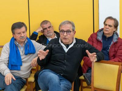 Roberto Capelli all'incontro PD (foto S.Novellu)