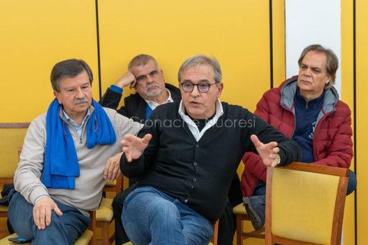 Bastiano Lovicu all'incontro PD (foto S.Novellu)