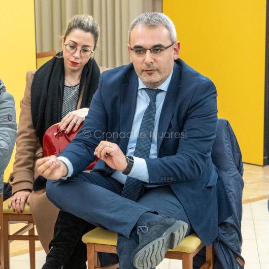 Francesco Manca all'incontro PD (foto S.Novellu))