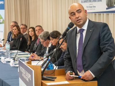 Il consigliere Giuseppe Talanas (foto S.Novellu)
